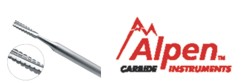 Image for Alpen Carbide Burs Sizes 1/4 To 8