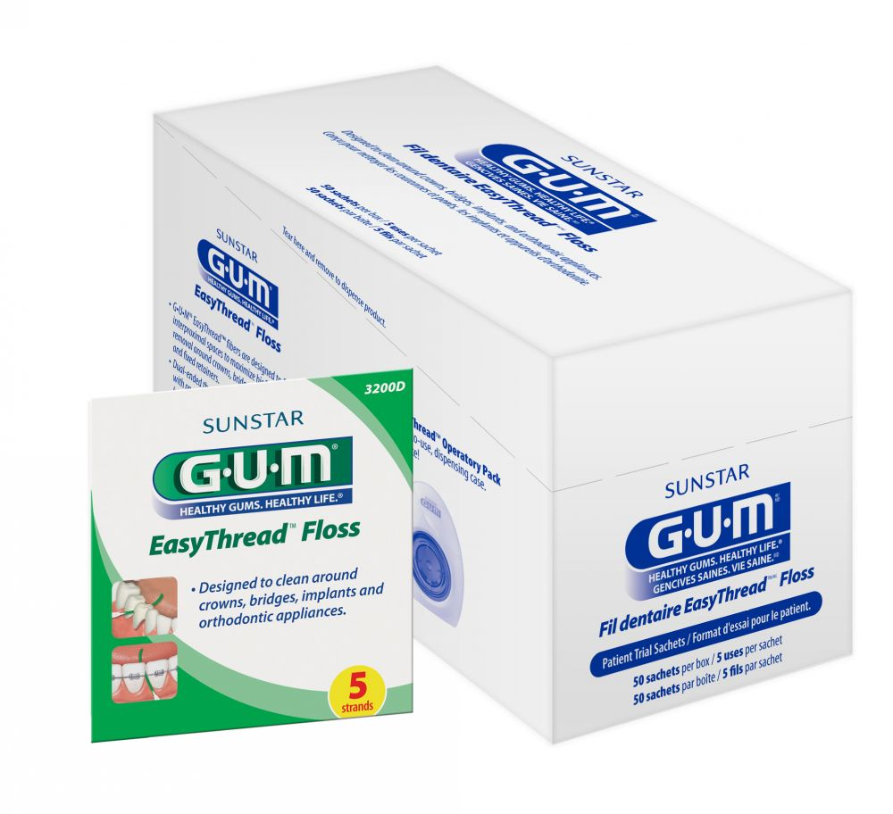 GUM® Easythread Floss (Preventive Products) Dental Product