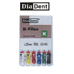 Image for Diadent K-Files 25mm