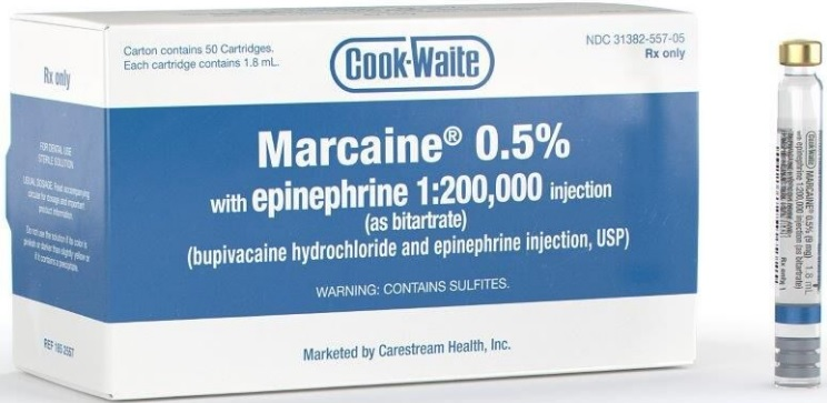 Image for Marcaine® Hcl 0.5% With Epinephrine