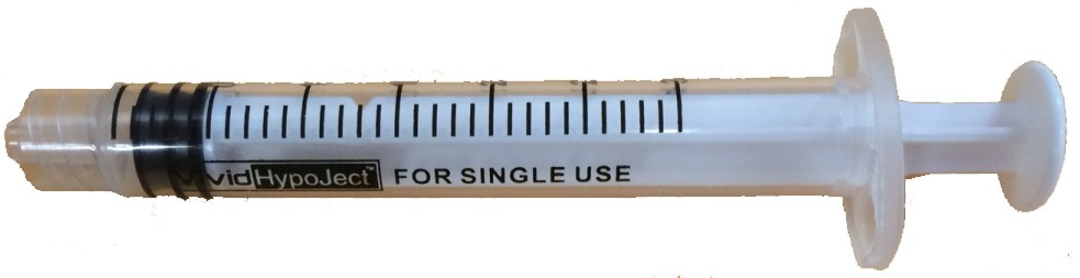 Image for Vivid Hypoject Syringes