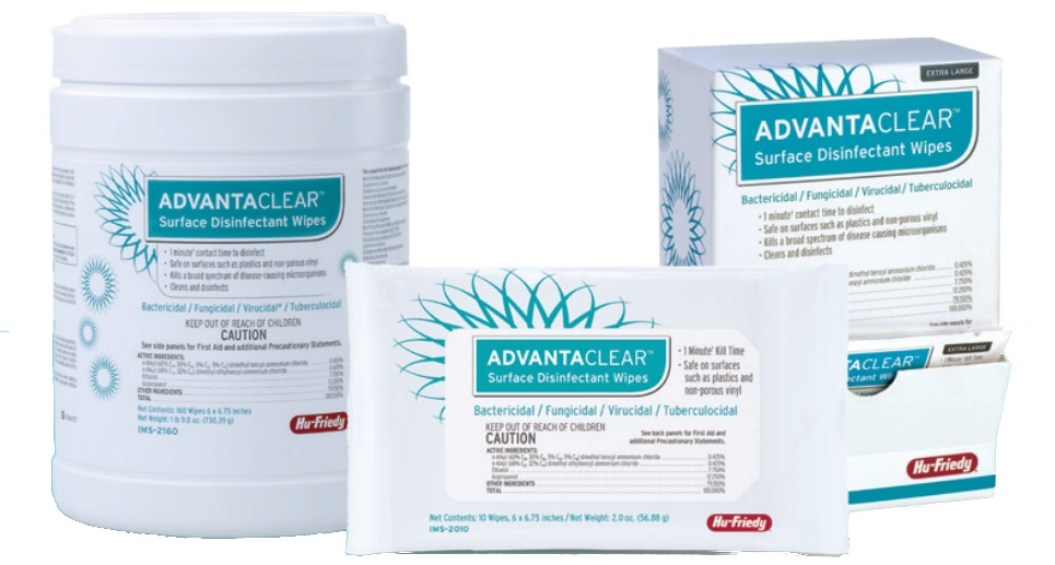 Image for Advantaclear Wipes