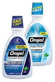Image for Orajel Mouth Sore Rinse