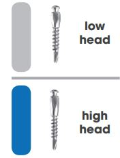 Self-drilling Mini Implants