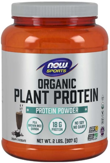 Organic Plant Protein Powder Chocolate