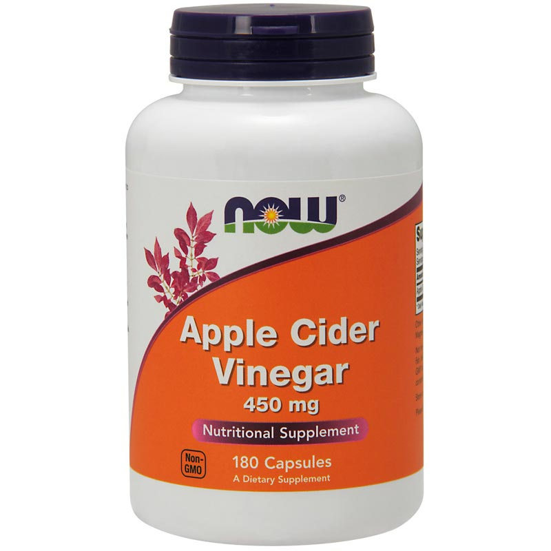 Apple Cider Vinegar 450 mg Capsules