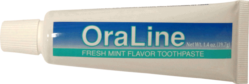 Image for Oraline Floride Free Mint Toothpaste 1.4oz