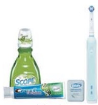 Oral-b Crest® Daily Clean Power System Kit