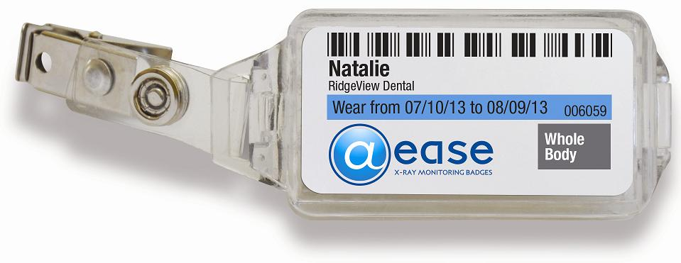@Ease X-ray Monitoring Badges