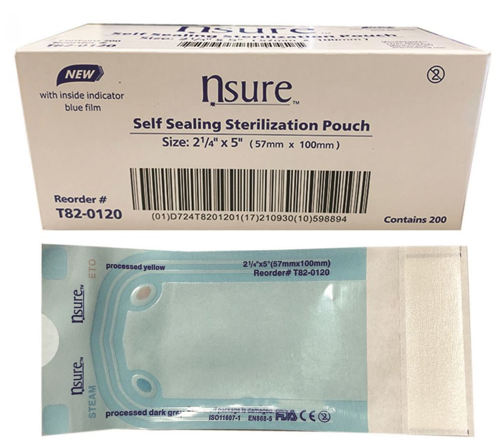 N'sure™ Autoclavable Pouches