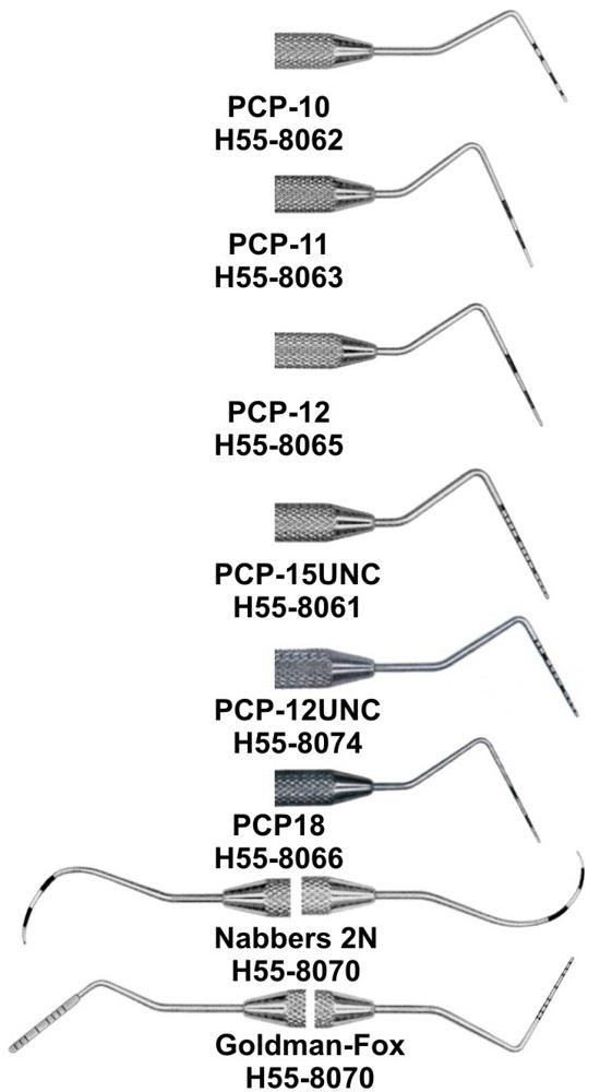 Hu-Friedy Colorvue® Perioscreen™ Probe (Hu-Friedy) Dental Product