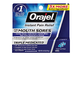 Image for Orajel Mouth Sore Medicated Gel