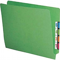 ending a letter colored reinforced end tab file folders letter office 1204