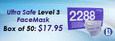 Ultrasafe Level 3 FaceMask