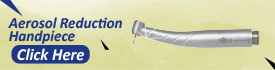 Aerosol Reduction Handpiece