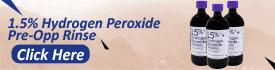 Hydrogen Peroxide Rinse 1