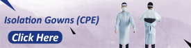 Isolation Gowns CPE
